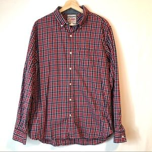 OLD NAVY 100% Cotton Flannel Button Down Shirt